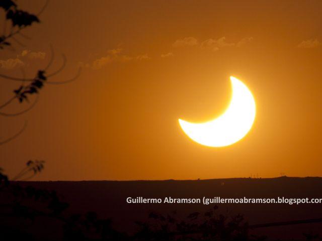 Observación del eclipse solar anular - 26/2/2017